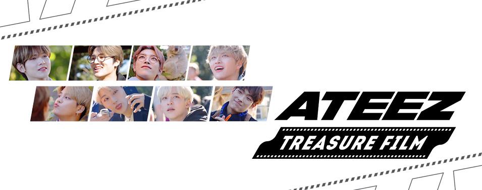 ATEEZ:TREASURE FILM 2019年12月12日(木)スタート! 日本初