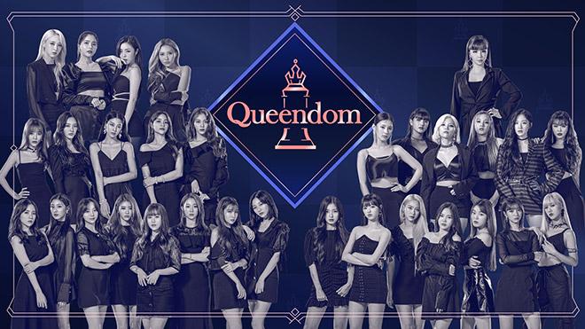 K-POP 界を代表するガールズグループ 6 組が同時に新曲を発表する、カムバック合戦!「Queendom」  11 月 13 日  日本初放送決定!