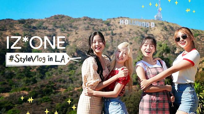 "IZ*ONE の""スタイル(ビューティー・ファッション・ライフ)""がたっぷり詰まったリアリティ番組!  「IZ*ONE #StyleVlog in LA」 12 月 16 日  日本初放送決定!"