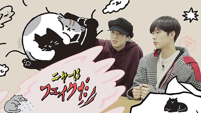PENTAGONのWOOSEOK、ユ・ソンホ出演!猫の本音を暴く、新感覚バラエティ!「ニャーはフェイクだ」