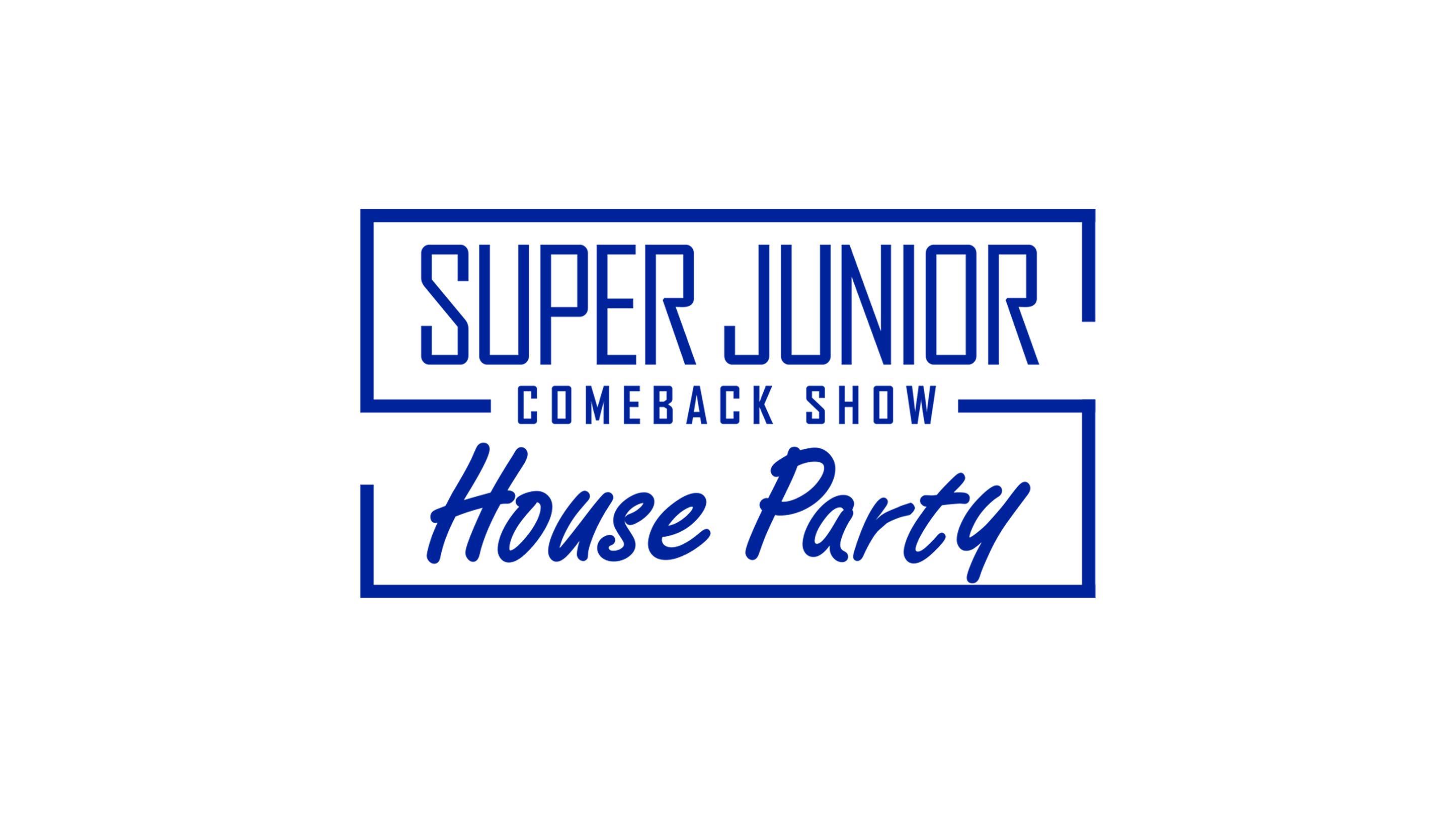 大反響を呼んだSUPER JUNIORのカムバックスペシャル番組!早くも日本語字幕版をオンエア!「SUPER JUNIOR COMEBACK SHOW <House Party>字幕版」5月5日 18:00~ 日本初放送!